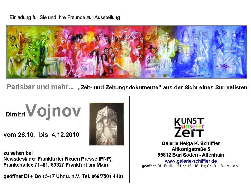 Galerie Helga K Schiffler Einladungskarten
